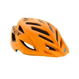 MET TERRA HELMET MATT ORANGE-BLACK. Met Terra is one of the coolest mountain bike you've ever dream of. The matt orange finish really shine through the rugged mountain trees as you ride in the deep dense and rocky terrains. Buy MET Terra mountain bike helmet online in India at wizbiker.com. Free shipping. #wizbiker #onlineindia #indiacycling #cyclingindia