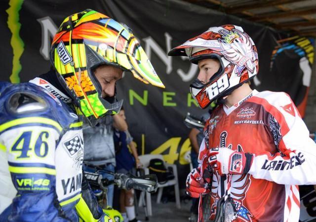 MotoGP Valentino Rossi: Nicky Hayden lascia un grande vuoto