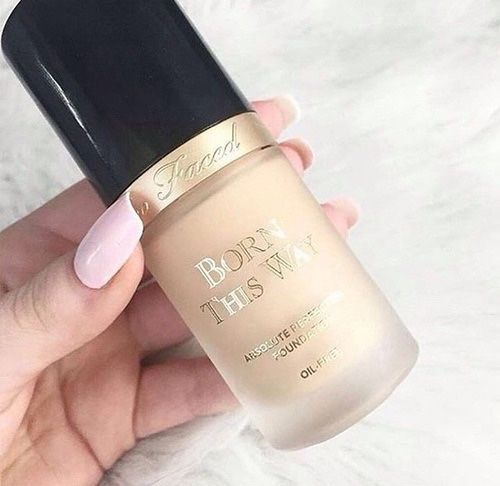 #repost from @ishimmer: This #toofaced foundation is definitely worth the hype. It provides full coverage while feeling light on the skin.
