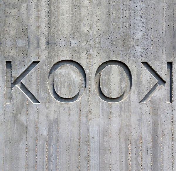 KOOK restaurant signage | Italy