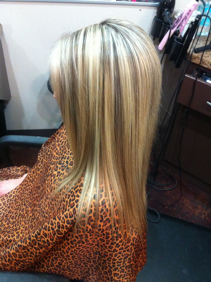 Blonde hilites