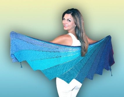Arabella Shawl Pattern - FREE.The pattern and all other information is available on this site Very Pink and this woman doesn't leave any piece of information out. Just found her site and really impressed, on so many levels.