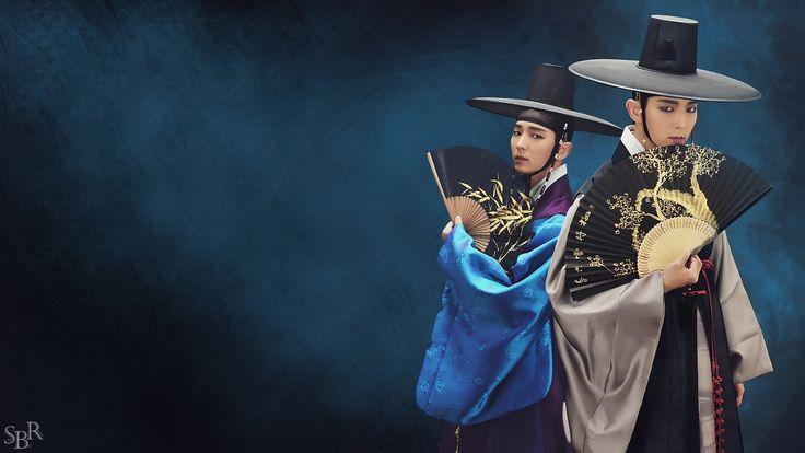 #이준기 #밤을걷는선비 #thescholarwhowalksthenight #leejunki #leejoongi #actor_jg #jg #李準基 two #Kimsungryeol wallpaper