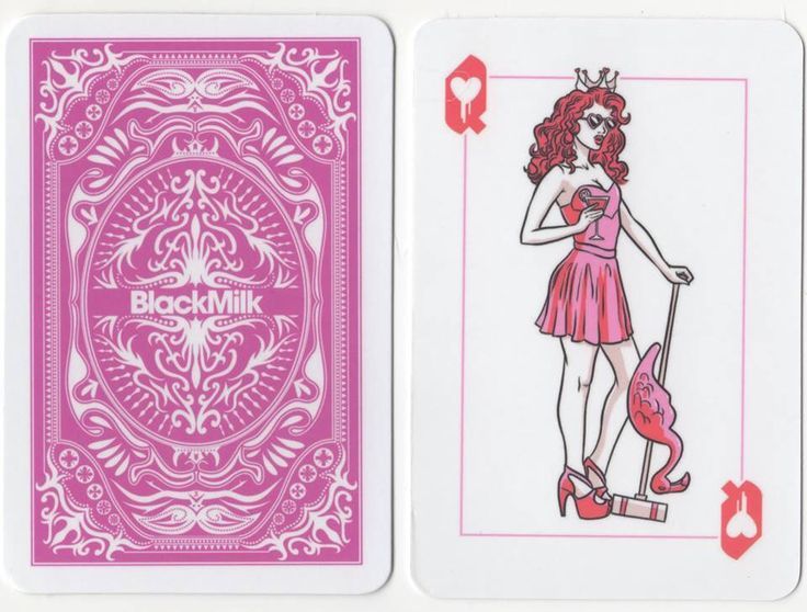 Princesses and Villains Queen Playing Card (2)
