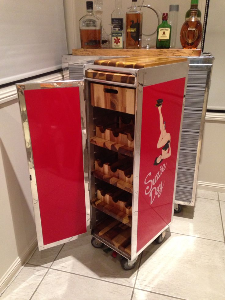 17 Best Images About Airline Bar Cart Ideas On Pinterest