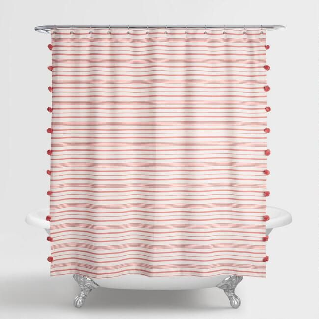 Add A Splash Of Color To Your Bathroom With Our Exclusive Shower Curtain