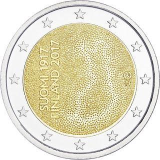 2 euroa Suomi 100 erikoiseuro 2017