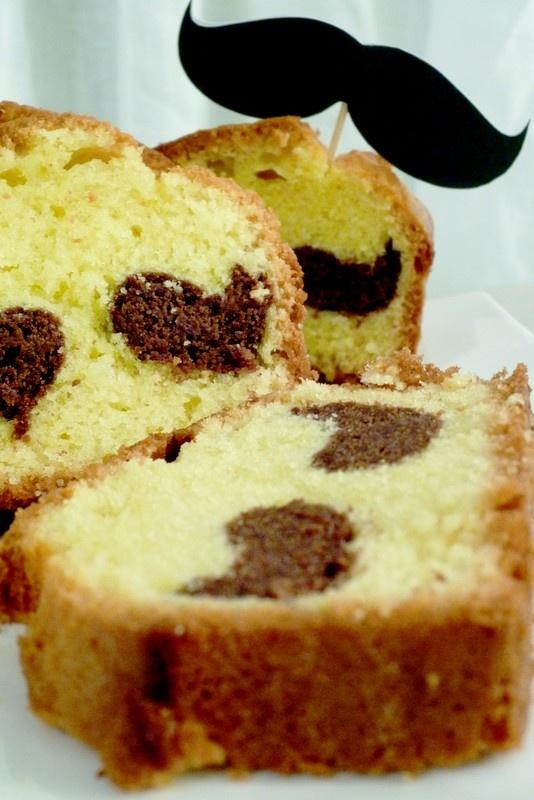 Mustache cake :{)