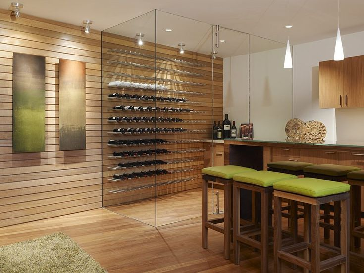 modern wine and wine cellar contemporary with wood walls southwestern wine racks