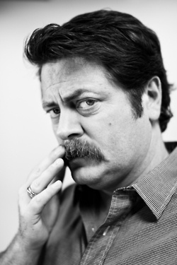 Nick Offerman @Victoria Oliver