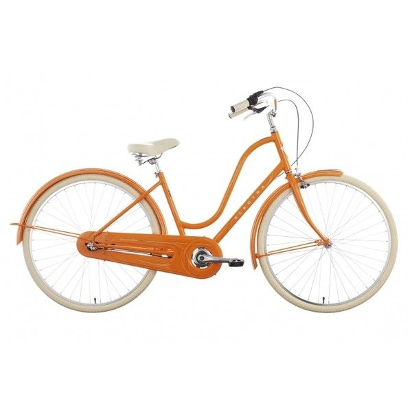 Electra Amsterdam Original 3i Ladies orange günstig kaufen ▷... ($675) ❤ liked on Polyvore featuring beauty products, fragrance and bike