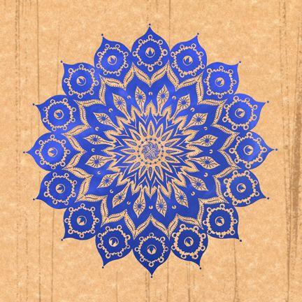 "Pinned as ""Lotus mandalas in the sky. Creo que será uno de mis próximos tattoos..."" Beautiful especially in blue."