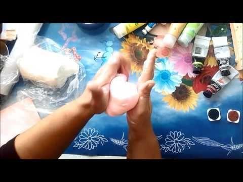 Soguk Porselen Hamuru nasil boyanir