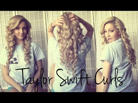 Voluminous Taylor Swift Curls ♡