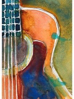 Watercolour -Acoustic Guitar - DEC - RIFKIN