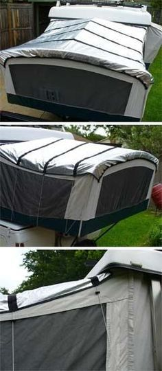 Solar Reflective panels for a pop up camper - Shade the ...