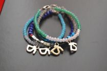 Lucky charm bracelets for the new year!
