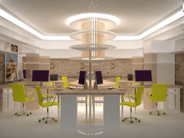 lime green office. design you trust small office interior lime green i
