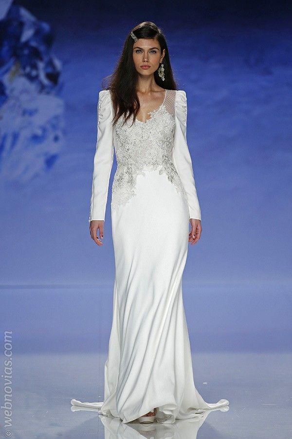 La belleza pura de las novias de Inmaculada Garcia 2018 | Blog de Webnovias    http://www.webnovias.com/blog/la-belleza-pura-de-las-novias-de-inmaculada-garcia-2018/