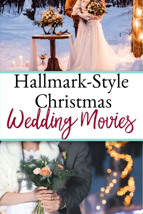 All The Christmas Themed Shows 2020 Hallmark Style Wedding Themed Christmas Movies in 2020 | Christmas