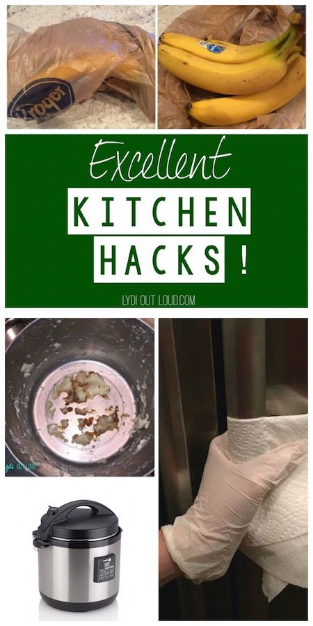 Great time saving kitchen hacks!