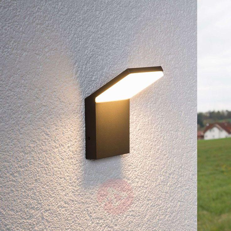 Nevio Zewnetrzna Lampa Scienna Led Led Outdoor Wall Lights Wall Lights Outdoor Wall Lighting