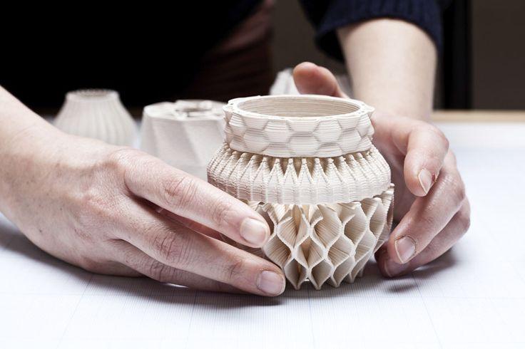 Unfold, les potiers 3D  MilK decoration