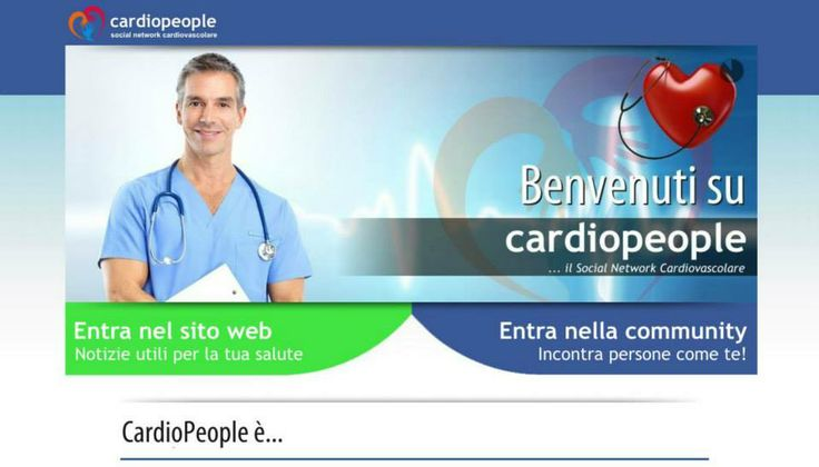Visit the new social network www.cardiopeople.com A community for discussions and solutions about patologies of the heart