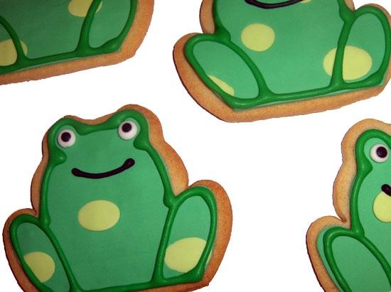 Frog Cookies for Carolyn