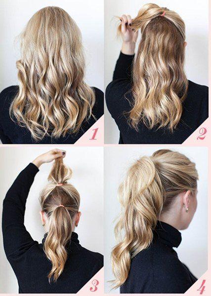 Peinados Para Todos Los Dias Faciles                                                                                                                                                                                 Más