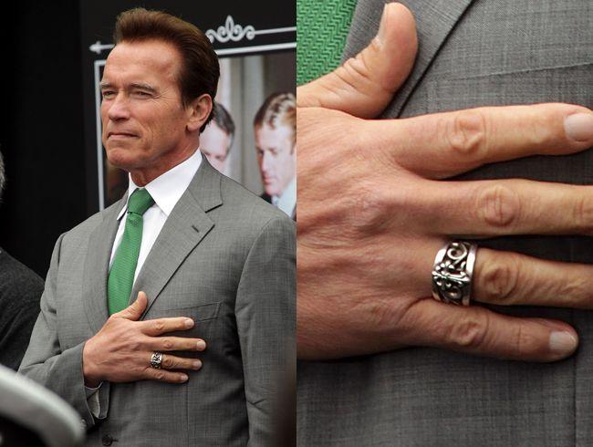 Schwarzenegger finger arnold
