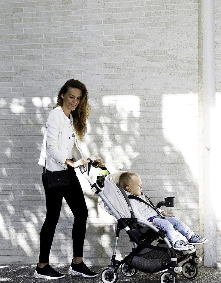 10 онлайн-магазинов одежды для детей, которые любят мамы  в Америке - модная мама с сыном, коляска Bugaboo Bee 3
