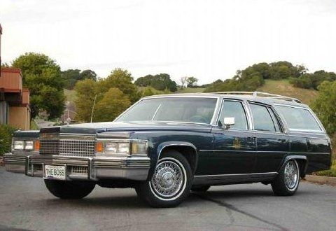1979 Cadillac Seville   1979 Cadillac Custom Station Wagon For Sale Front