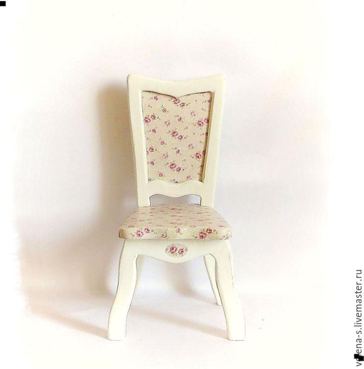 Купить Стульчик для куклы №2 - стульчик, стульчик для куклы, стул для куклы, интерьер, кукольный дом