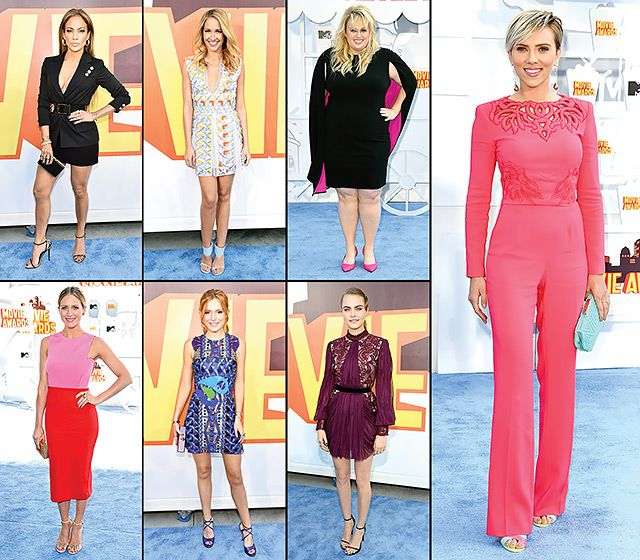 MTV Movie Awards 2015 Red Carpet Fashion: What the Stars Wore
