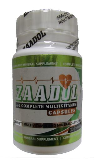 ZAADOL A-Z MULTIVITAMIN CAPS 30