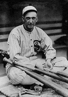 """Joseph Jefferson Jackson - Better known as Shoeless Joe Jackson.  A great player who Babe Ruth is said to have modeled himself on, banned from the game in 1920 following the infamous Black Sox Scandal and ineligible under MLB to enter Baseball Hall of Fame.  Little kid supposedly said to Shoeless Joe, on his way out of testifying before the Grand Jury """"Say it ain't so Joe.""""  Ray Liotta played character based on Shoeless Joe Jackson in """"Field of Dreams""""."""