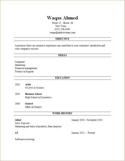 free resume builder resume builder | Beautiful, 2018 | Pinterest ...