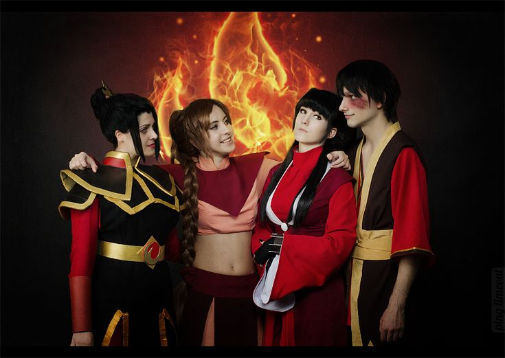 Really cool Fire Nation cosplay from Avatar: The Last Airbender