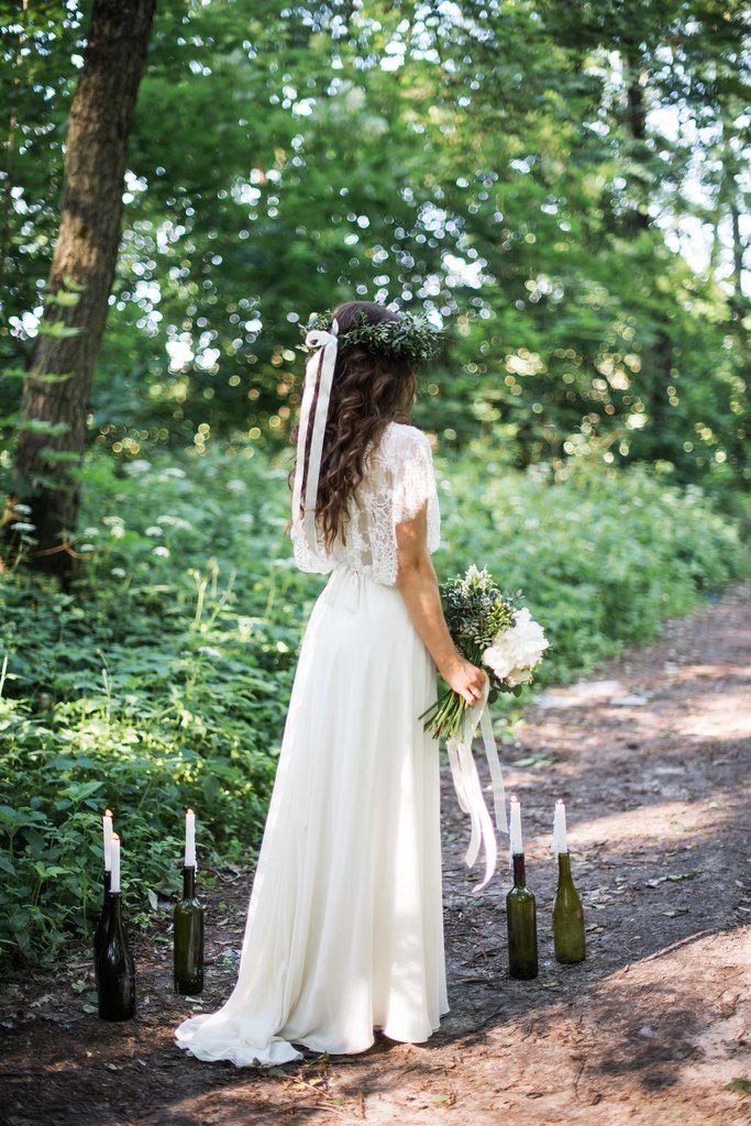 Лесная свадьба.  фотограф Анастасия Бурлачева