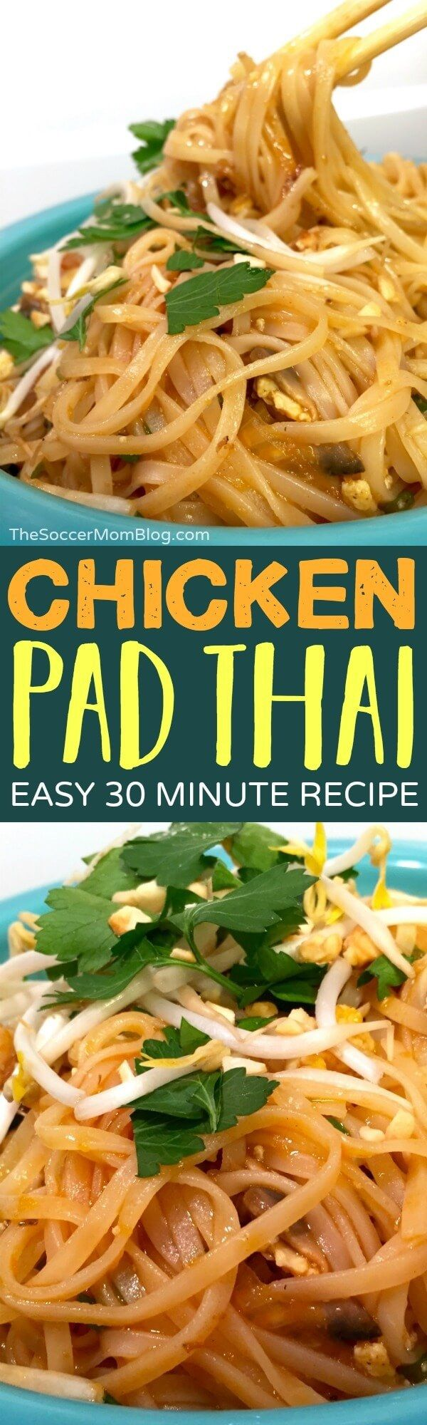 This easy authentic Pad Thai recipe is everything!Tastes just like takeout— and ready at home in 30 minutes!