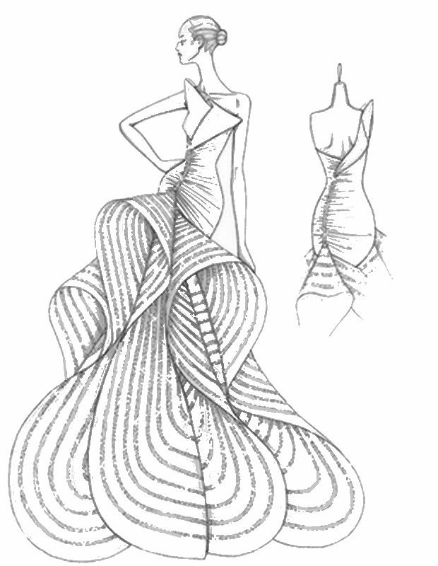 Versace Coloring Books Coloring Pages Colorful Fashion Free