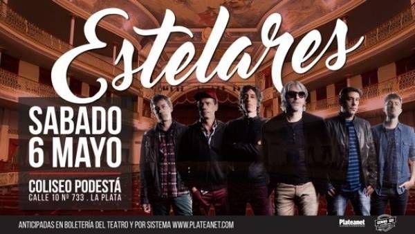 Estelares se presenta en el Teatro Coliseo Podestá