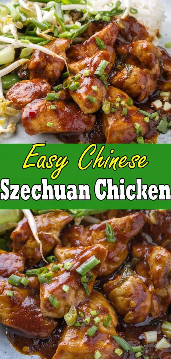 Szechuan Chicken Best Szechuan Chicken Chinese Takeout Recipe Szechuan Chicken Szechuan Recipes Chicken Appetizers