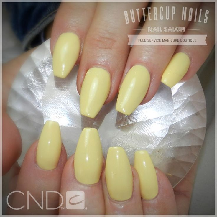 CND Shellac in Honey Darlin, over Retention+ acrylic sculpted nails.    #CND #CNDWorld #CNDShellac #Shellac #nails #nail #nailstagram #naildesign #naildesigns #nailaddict #nailpro  #nailart #nailartist #nailartdesign #nailartofinstagram #nailartdesigns