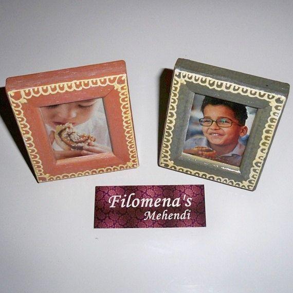 2 Hand Painted Picture Frames by FilomenaMehendi on Etsy #filomenamehendi #henna #hennaartist #mehndiartist #mehendiartist #india #portugal #naturalhenna #mehndi #mehendi #hennadesign #tattoodesigns #tattoo #hennapro #hennatattoo #hennainspire #indianart #instagood #instalike #instaphoto #instamood #etsy #handmade #hennakit #incenseholder #woodletter #decor #candle #gift