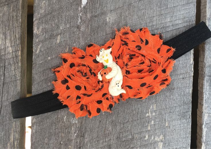 A personal favorite from my Etsy shop https://www.etsy.com/listing/532054064/halloween-headband-orange-headband
