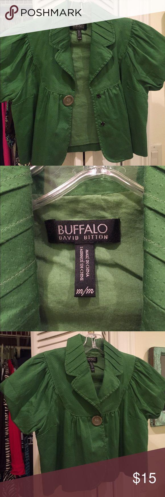 Buffalo David Bitton crop trench coat Buffalo David Bitton jacket Buffalo David Bitton Jackets & Coats