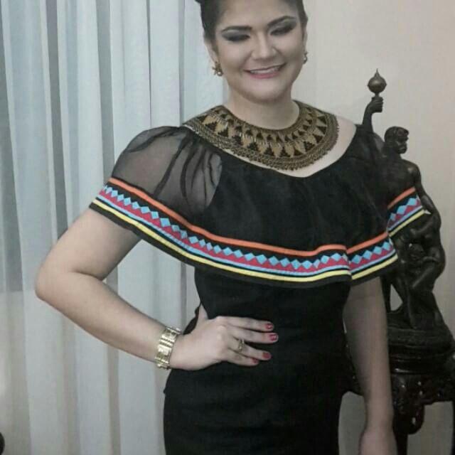 SRM Ivania Barrios Reina de la Pollera 2016.