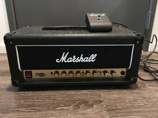 Marshall DSL15H   Reverb